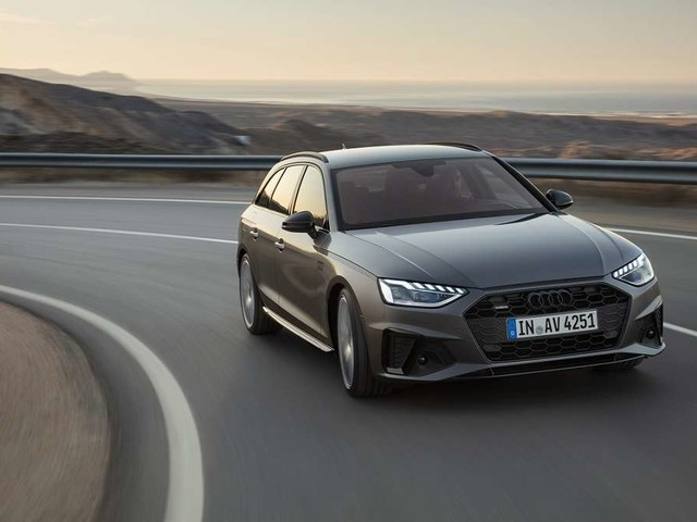 Der neue Audi A4 redet mit Ampeln und surft auf der grünen Welle