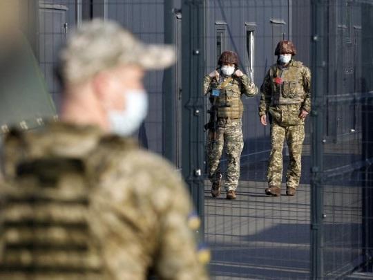 Ostukraine-Konflikt - Merkel, Macron und Selelnskyj fordern russischen Truppenabzug