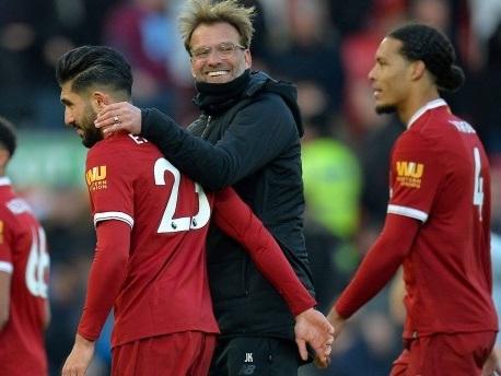 4:1 gegen West Ham: Klopp springt mit Liverpool auf Platz zwei