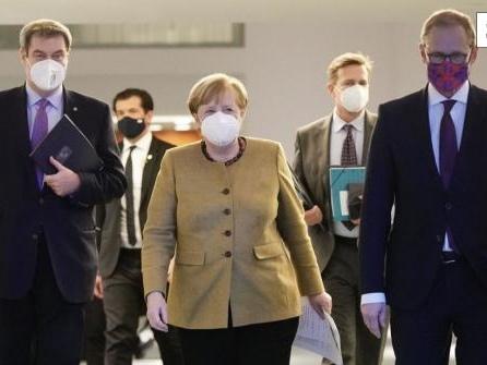Neues Treffen mit Merkel: Corona-Politik der kleinen Schritte