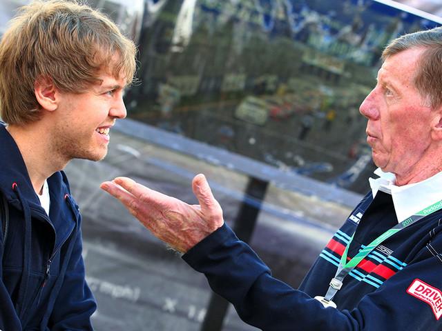 Formel 1: Sebastian Vettel, Aston Martin So baut Rallye-Legende Röhrl Vettel auf