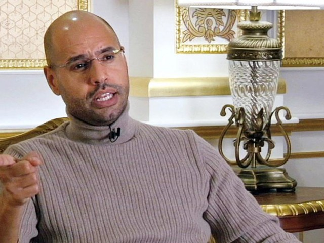 Gaddafis Sohn will zurück in die Politik in Libyen