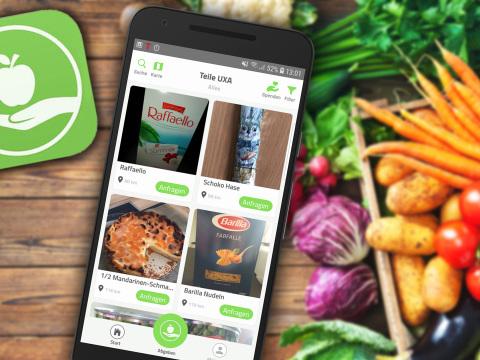 Foodsharing per App: So bekämpfen Sie Lebensmittelverschwendung