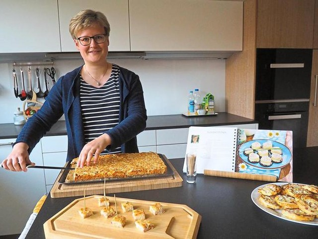 Münsterland: Goudaröllchen appetitlich in Szene gesetzt