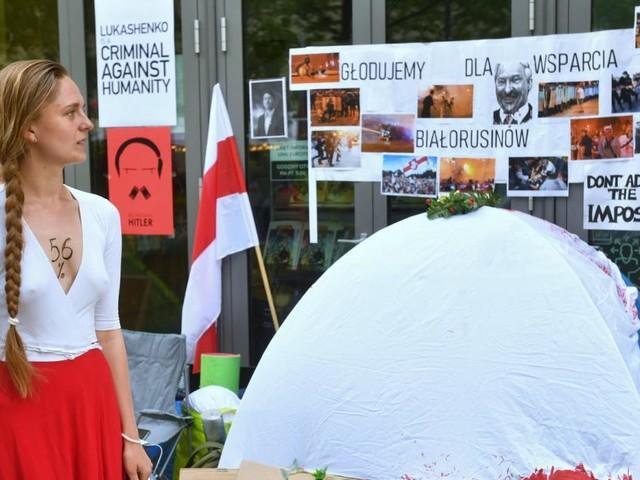 Hungerstreik und Angst: Weißrussen im Exil