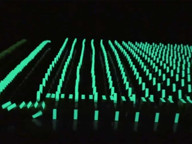 Glow In The Dark-Dominosteine