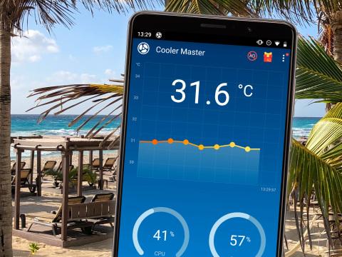 Anti-Hitzeschaden-App fürs Handy: Gratis-Tool kühlt Ihr Smartphone