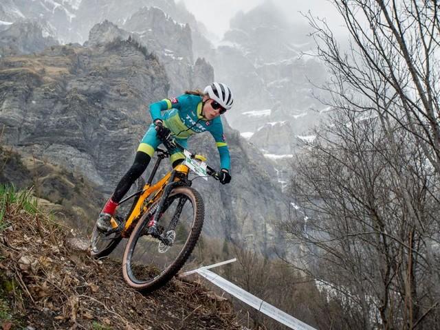 Mountainbikerin Mitterwallner: Eine 19-Jährige fährt den Stars um die Ohren
