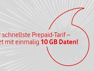 Vodafone CallYa Freikarte: Neukunden erhalten 10GB Datenvolumen geschenkt