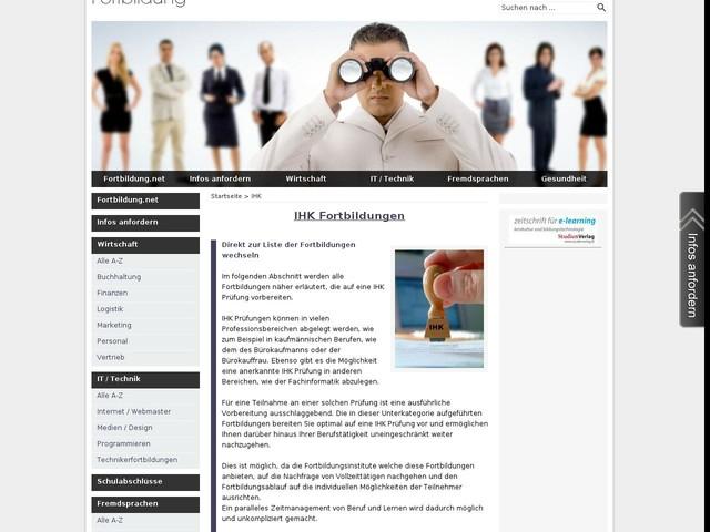 Fortbildung IHK   Fortbildung.net