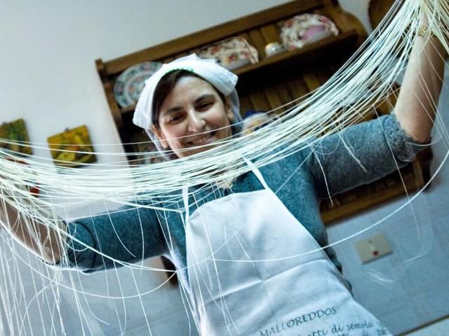 Auf Sardinien gibt es die seltenste Pasta der Welt