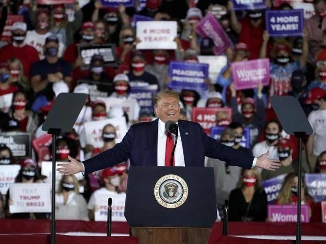 US-Wahlkampf: Trump verschärft Angriffe gegen Bidens Familie