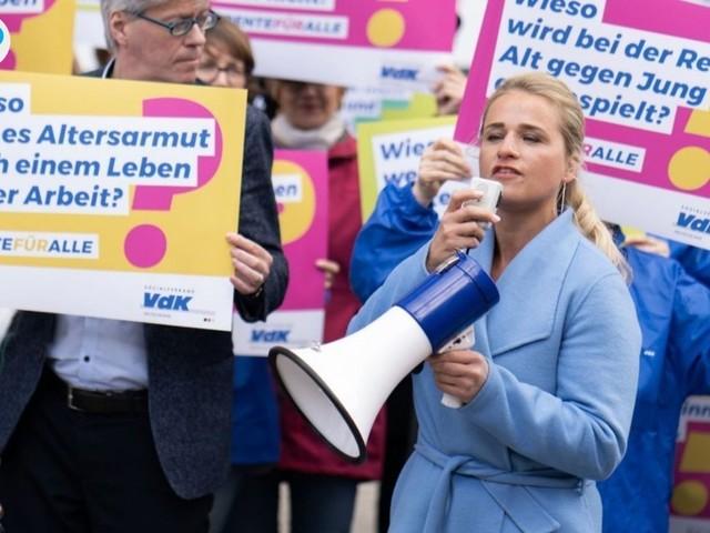 Sozialverband warnt vor Rentnerfrust und Rechtspopulisten