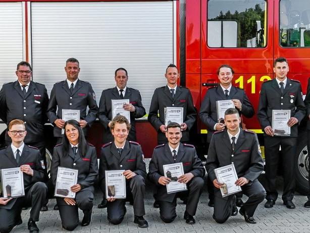 Freiwillige Feuerwehr: Ennepetal: Beförderungen im Löschzug Milspe-Altenvoerde
