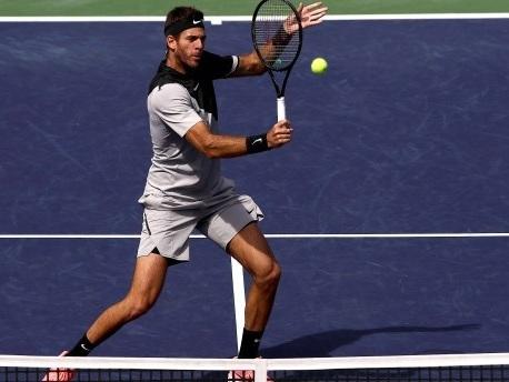 Del Potro beendet Siegesserie von Federer und gewinnt in Indian Wells