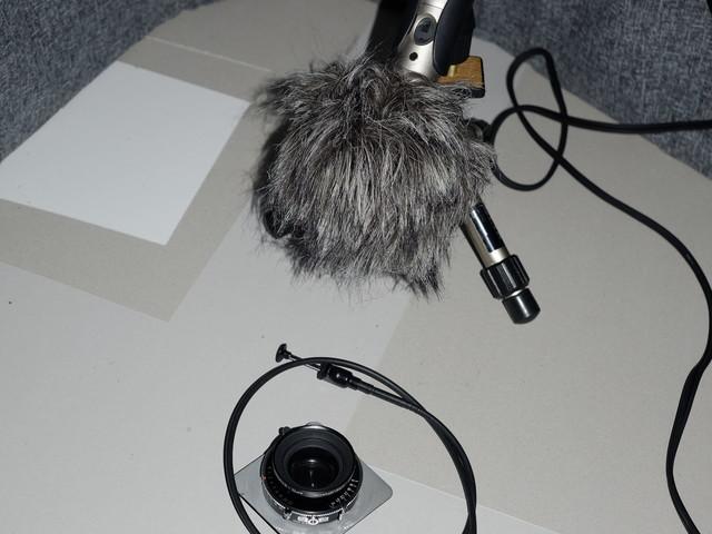 »For Sale« Geräusche fotografischer Apparate Teil 10: Schneider Apo Symmar f 5,6/120 mm in Copal Press mit Kabelauslöser
