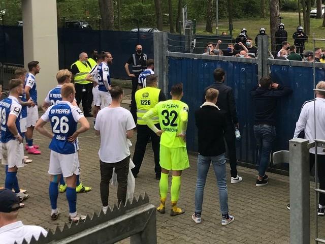 Nach Niederlage: SV-Meppen-Fans beschimpfen eigene Mannschaft