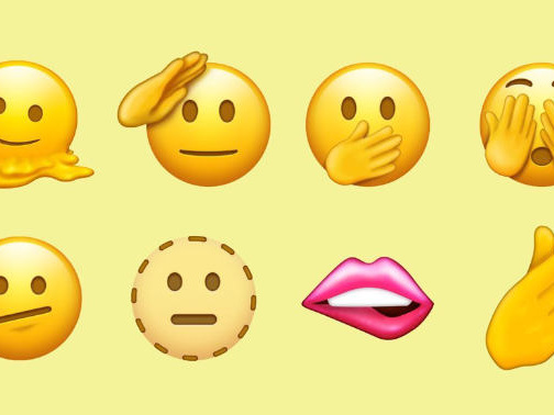 """Neu im Emoji-Standard: """"schwangerer Mann"""" und """"schmelzendes Gesicht"""""""