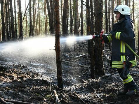 Osterfeuer sind in Brandenburg ein großes Risiko