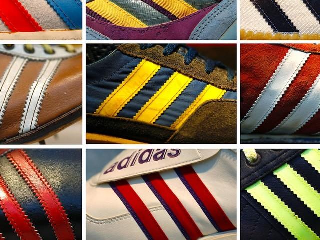 Wie bekannt sind die Adidas-Streifen in der EU?