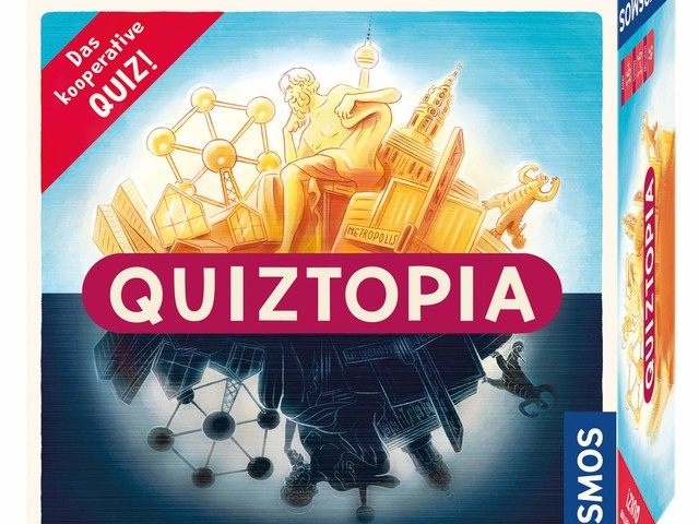Quiztopia – Das kooperative Quiz
