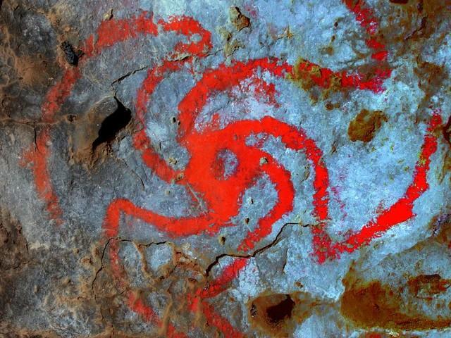 Amerikanische Ureinwohner: Forscher finden Drogenreste neben Zeichnung halluzinogener Pflanze