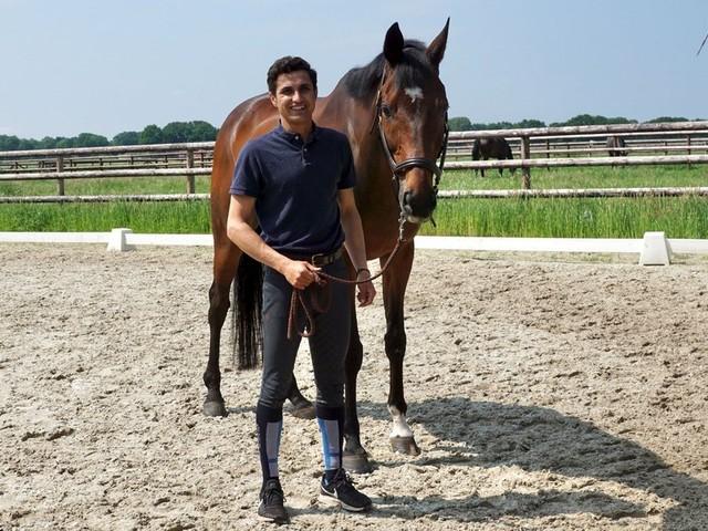 Indischer Reiter Fouaad Mirza trainierte in Bergedorf für Tokio