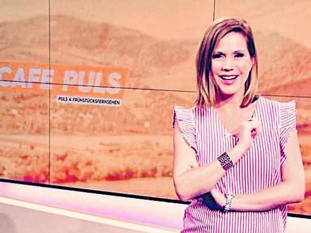 Über ein Jahr Bildschirmpause für Puls4-Lady Johanna Setzer