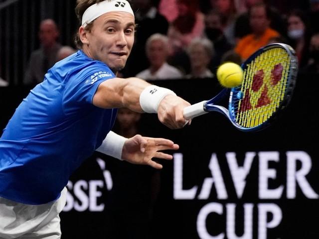 Tennis: Laver Cup: Norweger Ruud bringt Team Europa in Führung