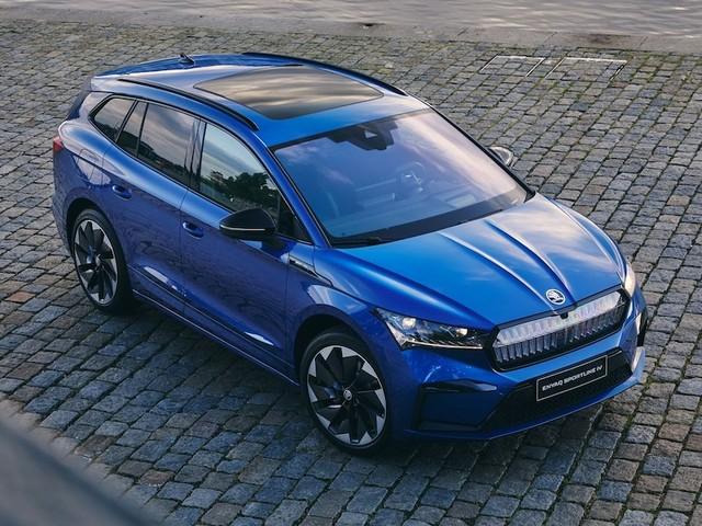 Fahrbericht Skoda Enyaq iV Sportline 80x - Jetzt mit Allrad: Das kann Skodas schicke Alternative zum VW ID4