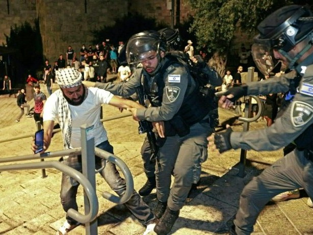 Gewaltausbruch in Ost-Jerusalem: Hunderte Verletzte