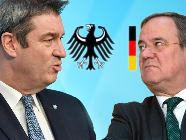 Keiner will weichen: Unterstützer für Laschet - Gespräch mit Söder ergebnislos