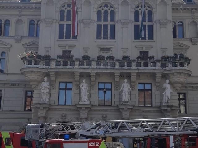 Rathaus - Vier Brandanschläge sorgen für Großeinsatz in Graz