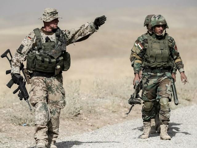 Nahost-Konflikt: Bundeswehr nimmt Ausbildung der Kurden im Nordirak wieder auf