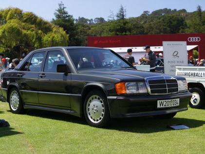 Mercedes 190 E 2.3-16: Sport-Benz bei The Quail Orignaler Sport-190er