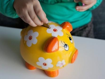 Auch Kinder kassieren Zinsen
