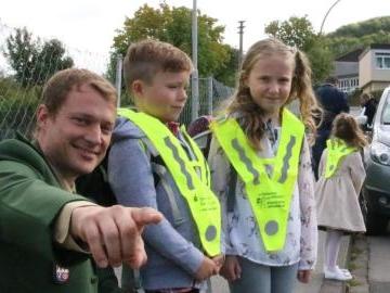 Sicherer Schulweg im Kreis Bad Kissingen