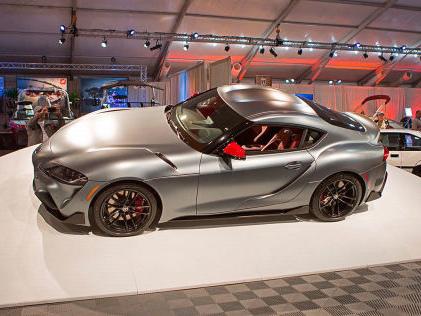 Toyota Supra 2019: Rekordpreis bei US-Auktion Supra für 1,85 Millionen Euro verkauft