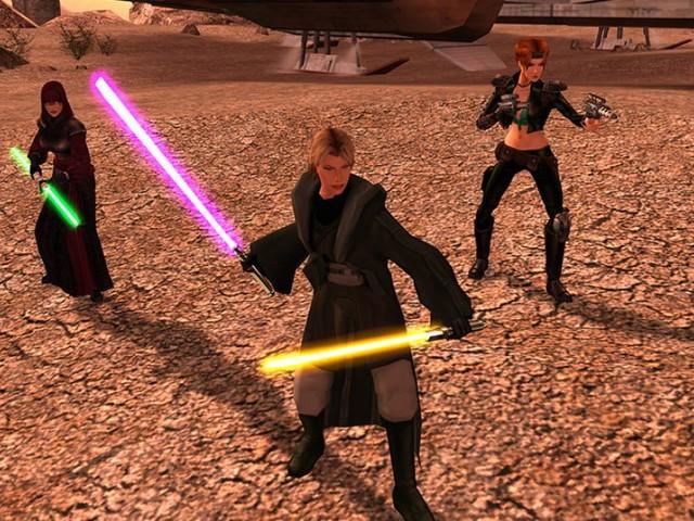 Star Wars: Knights of the Old Republic 2: Obsidian wollte Nachfolger mit monströsen uralten Sith-Lords