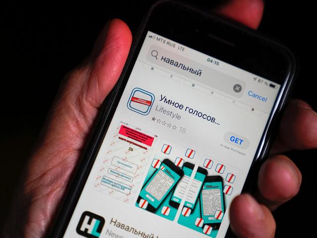 Apple und Google entfernen Nawalny-App in Russland