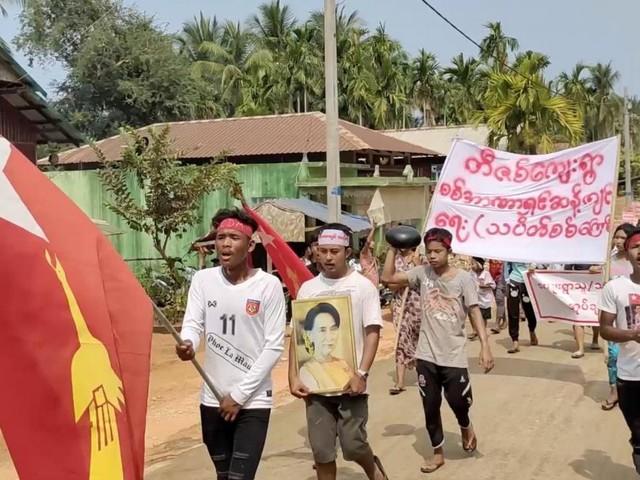Bei Unruhen in Myanmar kamen schon 46 Kinder zu Tode
