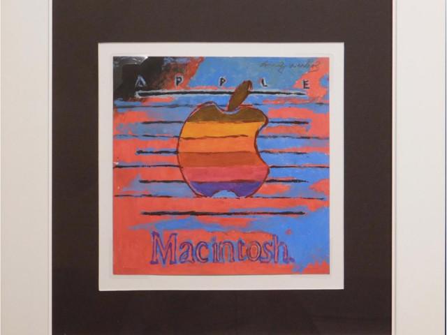 Seltene Kunst: Andy Warhols Apple-Bild wird versteigert