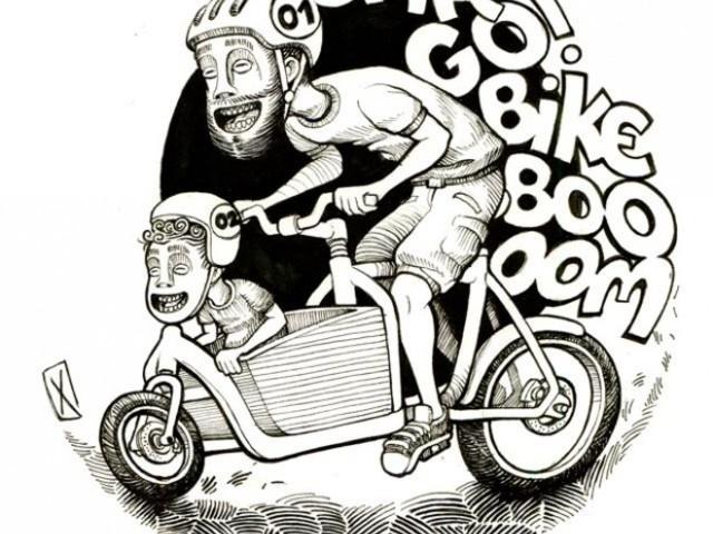 Geld sammeln fürs Lastenradbuch