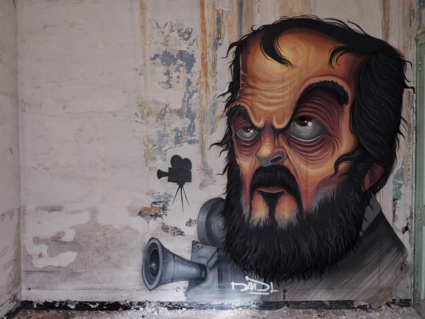 Popkulturelle Grafitti von DavidL - Fotografiert von Fer Alcala | Graffiti Barcelona am Fraggle Rock