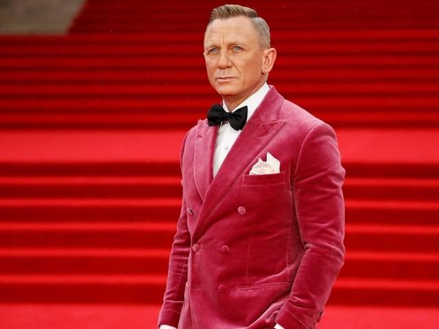 """Daniel Craig im Himbeer-Sakko bei der Premiere von """"James Bond"""" in London"""