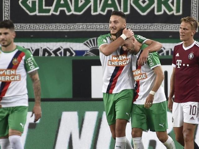 Rapid schlägt Sparta Prag: Knasmüllner-Traumtor ebnet Weg zum Sieg