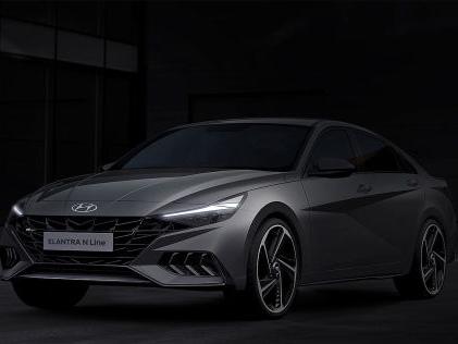 Hyundai Elantra N Line (2020): Teaser, Automatik, Motor, Präsentation Erste Teaser zeigen: Als N Line wird der Hyundai Elantra noch schöner