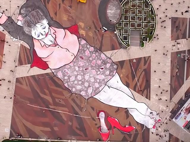 'Heavy Sleepers' – Auf Street Art-Weltreise mit dem Künstler-Duo Ella & Pitr