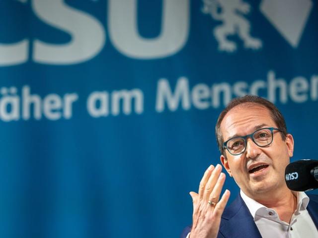 CSU: Alexander Dobrindt über Unionskrise: »Wir können nicht zufrieden sein, wenn wir unter 30 Prozent landen«