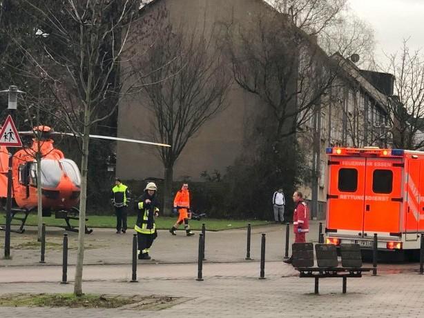 Feuerwehr: Essens Feuerwehr klagt über fehlenden Respekt und Gaffer